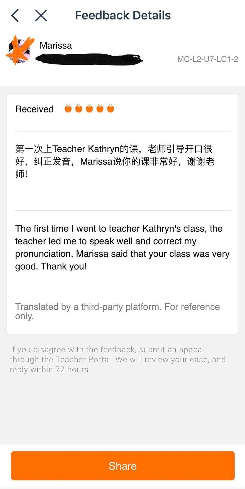 VIPKid teacher review