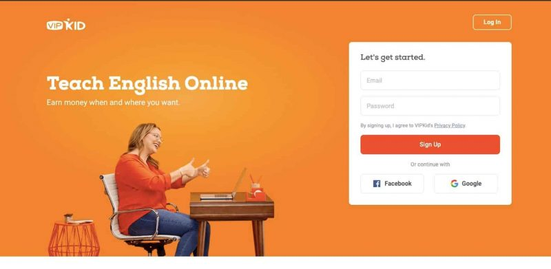 VIPKID is an excellent work from home website if you're interested in teaching English.