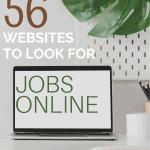 56 Websites to Look for Job Online
