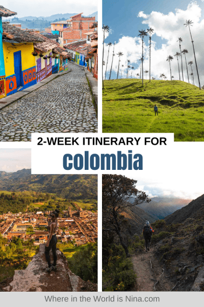 2 Week Colombia Itinerary