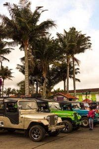 You can get around Salento, Colombia on Jeeps too.