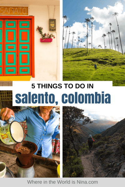 5 Best Things to do in Salento, Colombia
