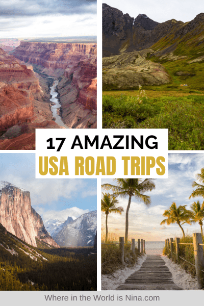 Amazing USA Road Trips