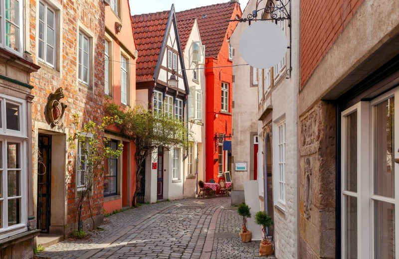You'll see many picturesque towns on your road trip in Germany and Bremen is one of them.