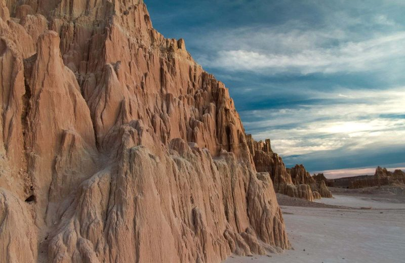 Cathedral Gorge State Park is a must on a Nevada road trip.