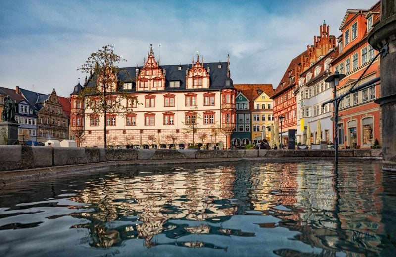 Explore the charming town of Coburg on your Germany road trip.