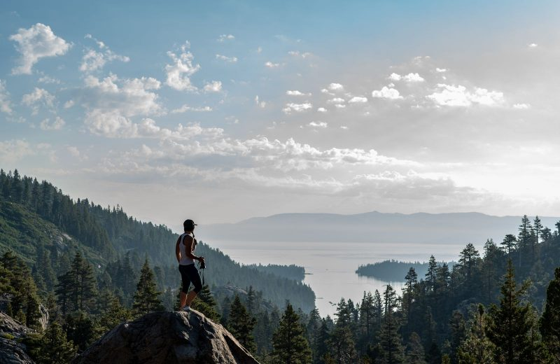Everyone's favorite place to visit while on a Nevada road trip is Lake Tahoe.
