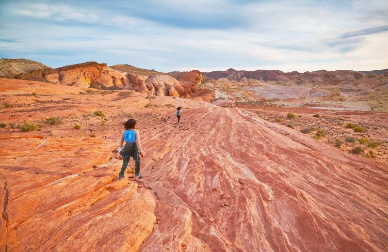 Exploring the Fire Wave Trail is a fun thing to do on your Nevada road trip.