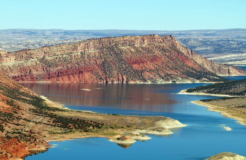 A can't miss on your Utah road trip is Flaming Gorge National Recreation Area.