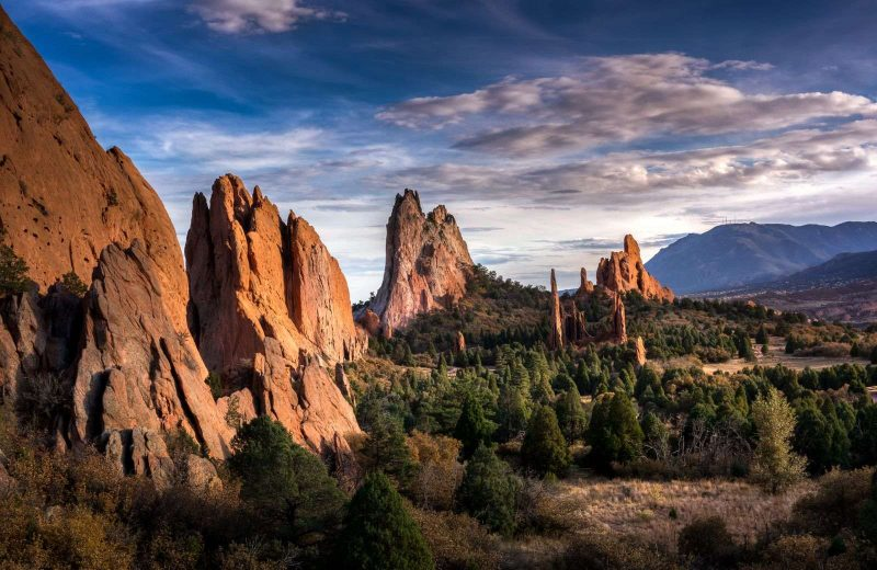 Garden of the Gods is an impressive place to visit on your Southwest road trip.