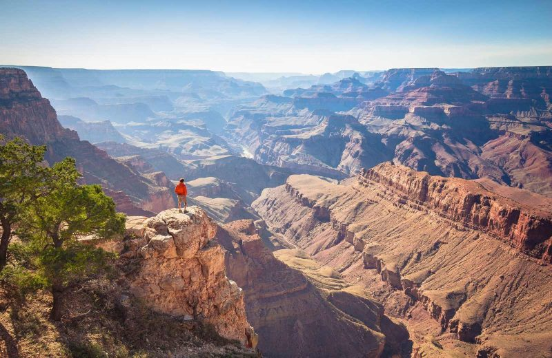 The Grand Canyon is an iconic landmark that you cannot miss on your Arizona road trip.