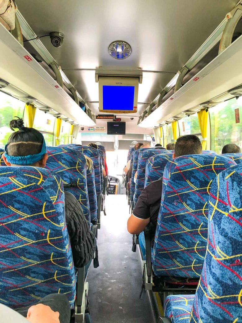 The easiest way to get to Olon, Ecuador is by taking a bus from Guayaquil.