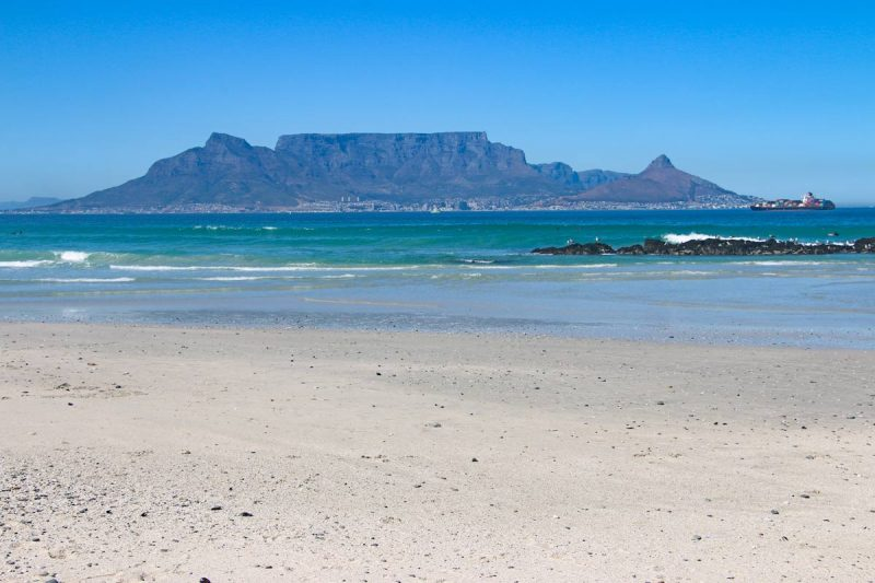 Kitesurfing is another exciting adventure to have in Cape Town.