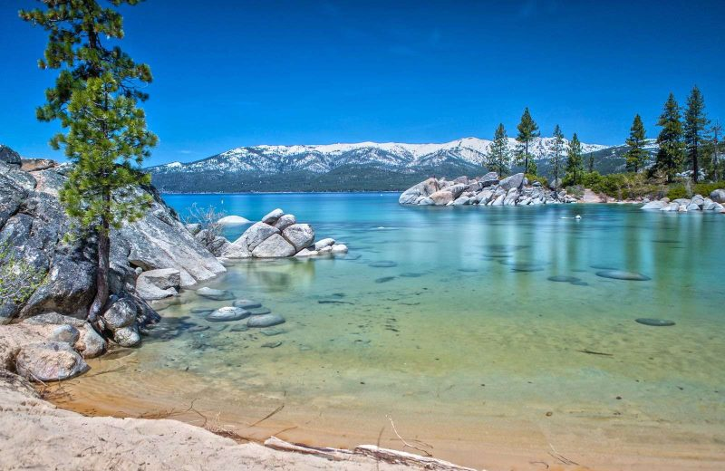 Lake Tahoe is a major highlight on a Nevada road trip.