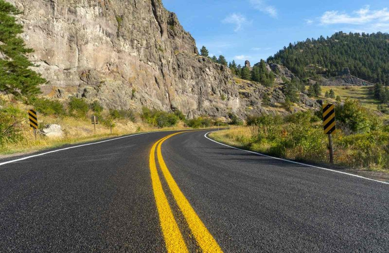 This is one of the many beautiful views you'll see on your Montana road trip.