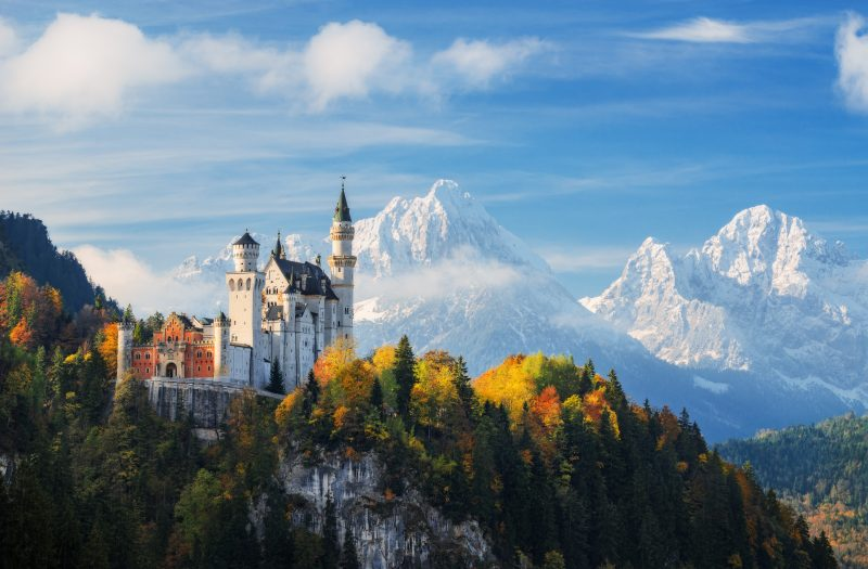 One of the highlights of your Germany road trip will be Neuschwanstein Castle.