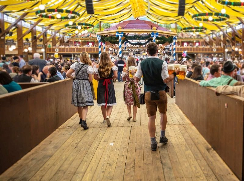 Do a Germany road trip during Oktoberfest.