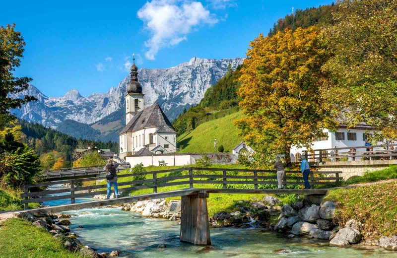 Ramsau is a picturesque town to stop on your Germany road trip.