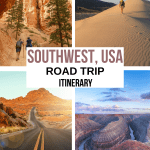 Southwest USA Road Trip Itinerary
