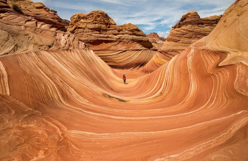 The Wave is a gorgeous place to visit on your Arizona road trip.
