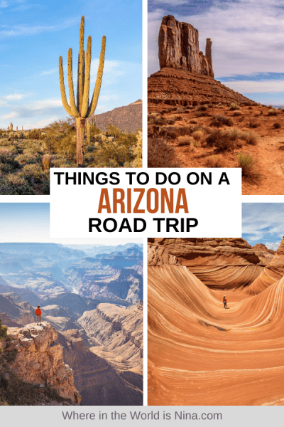 Things to do on an Arizona Road Trip