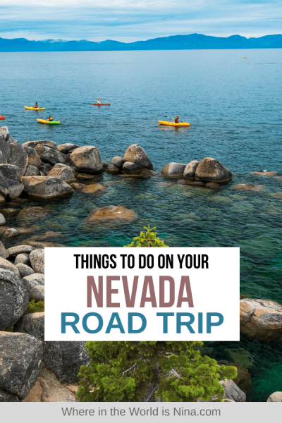 Your Nevada Road Trip Guide