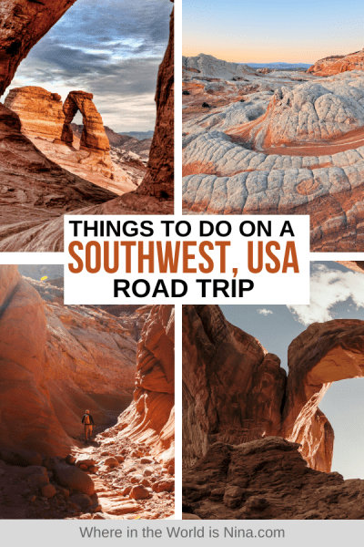 Things to do on a Southwest Road Trip