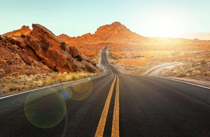 The Valley of Fire is a fan favorite place to stop on Nevada road trips.