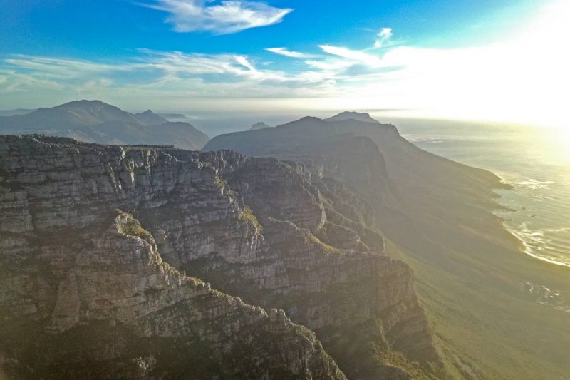 One of the best places to visit in Cape Town is Table Mountain.