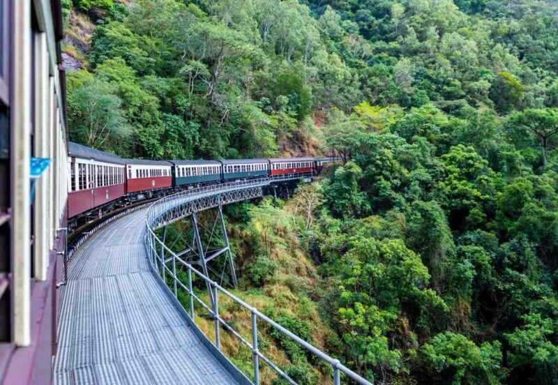 Kuranda Scenic Rail is an awesome thing to do in Cairns!