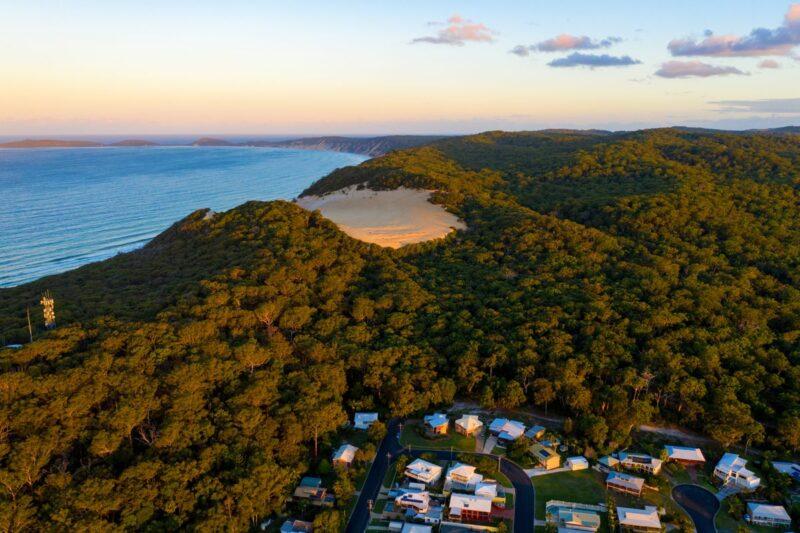 Carlo Sandblow on the Sunshine Coast