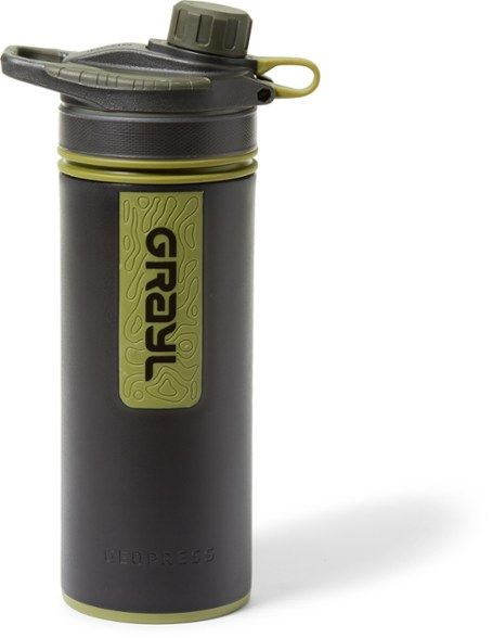 Grayl water filter - one of the best travel water filters