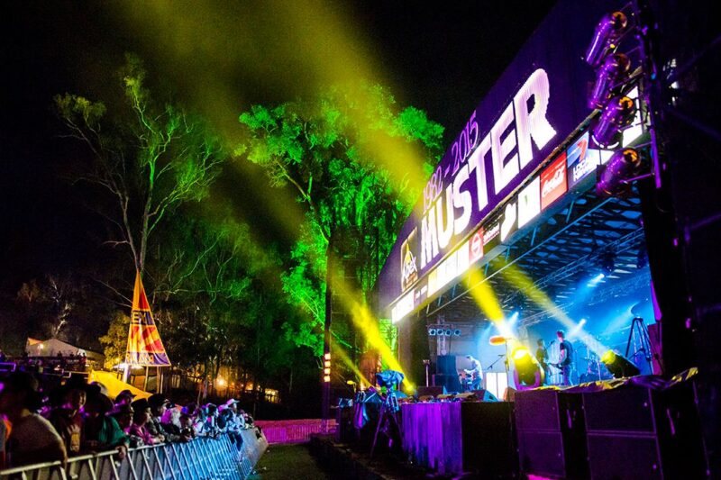 Concert at the Gympie Music Muster on the Sunshine Coast
