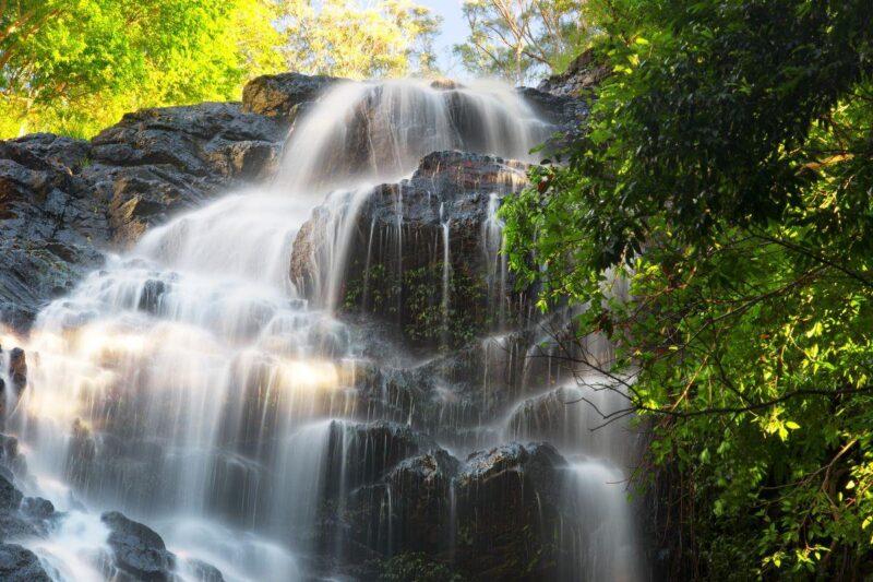 Kondalilla Falls on the Sunshine Coast, Queensland