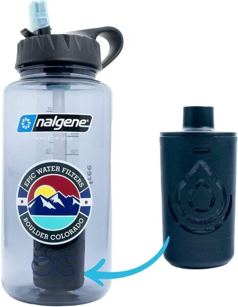 Nalgene travel water filter