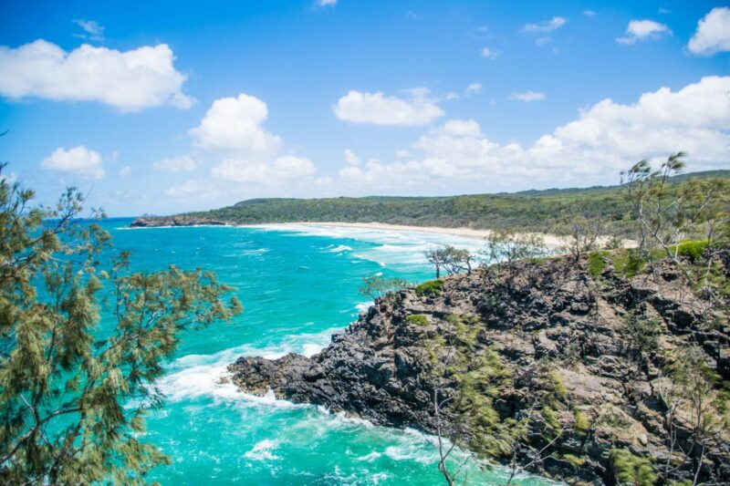 View of the ocean from the Noosa National Park Coastal Path