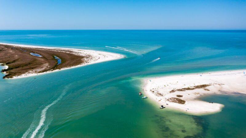Caladesi Island near Tampa, Florida