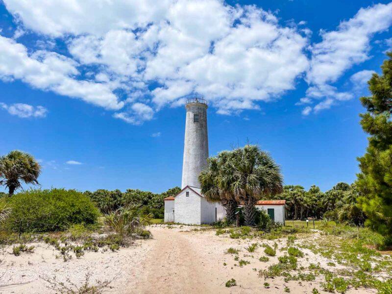 Lighthouse at Egmont Key State Park