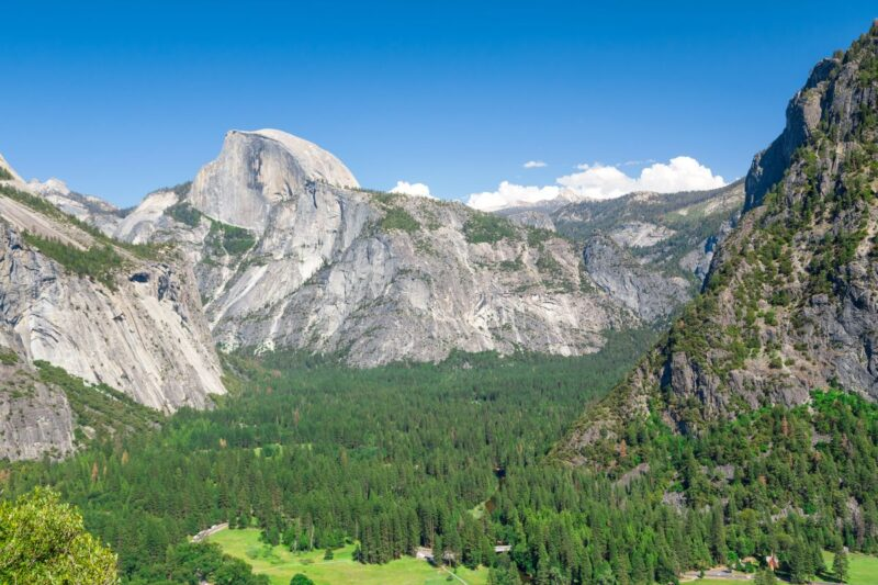 View from Columbia Rock on a Yosemite Road trip