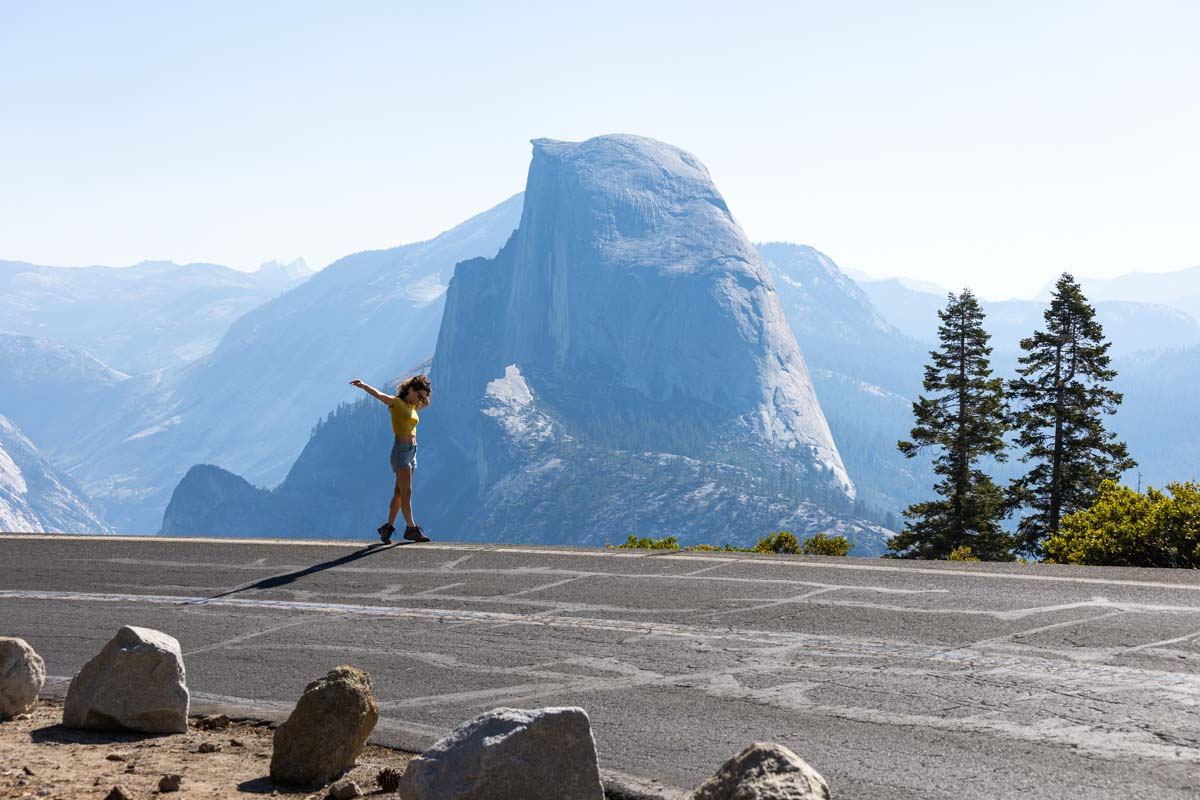 Yosemite road trip itinerary